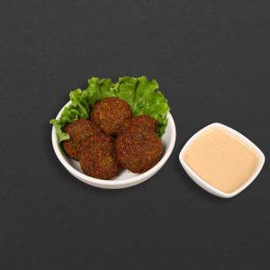 Falafel and tahini sauce