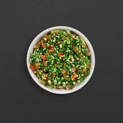 bowl of tabouleh