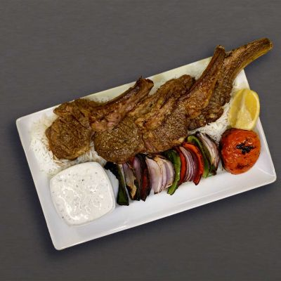 Rack of Lamb Plate from Kebab Bar Los Angeles