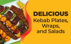 Kebab Bar Delicious Website Banner